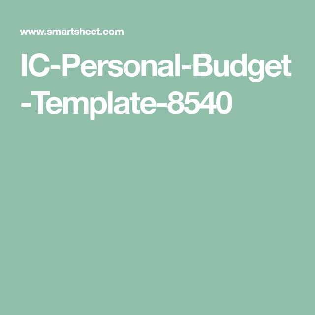Narrative Budget Manual Guide