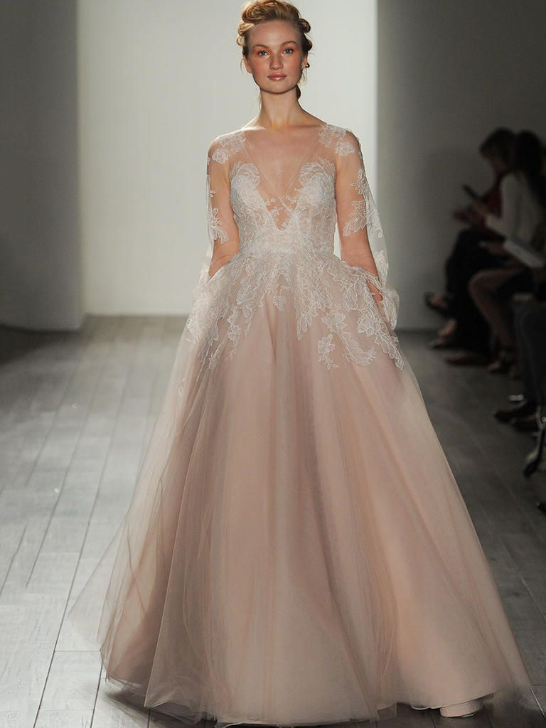 Awesome Winnie gown by Hayley Paige Wedding Dress Justgotpaiged JLMCouture