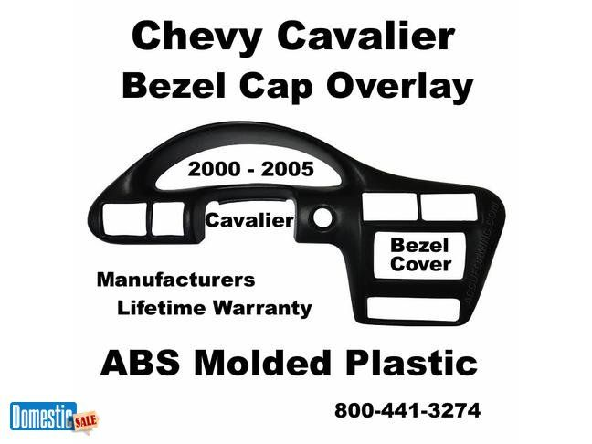 Chevy Cavalier Instrument Bezel Cover Fits 2000 2005 Panel Right Over Your Original