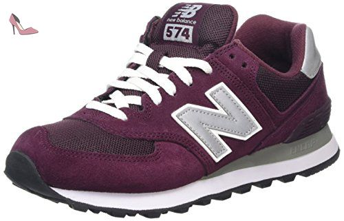 New Balance Lifestyle, Sneakers Basses Femme, Rose (Pink), 40.5 EU
