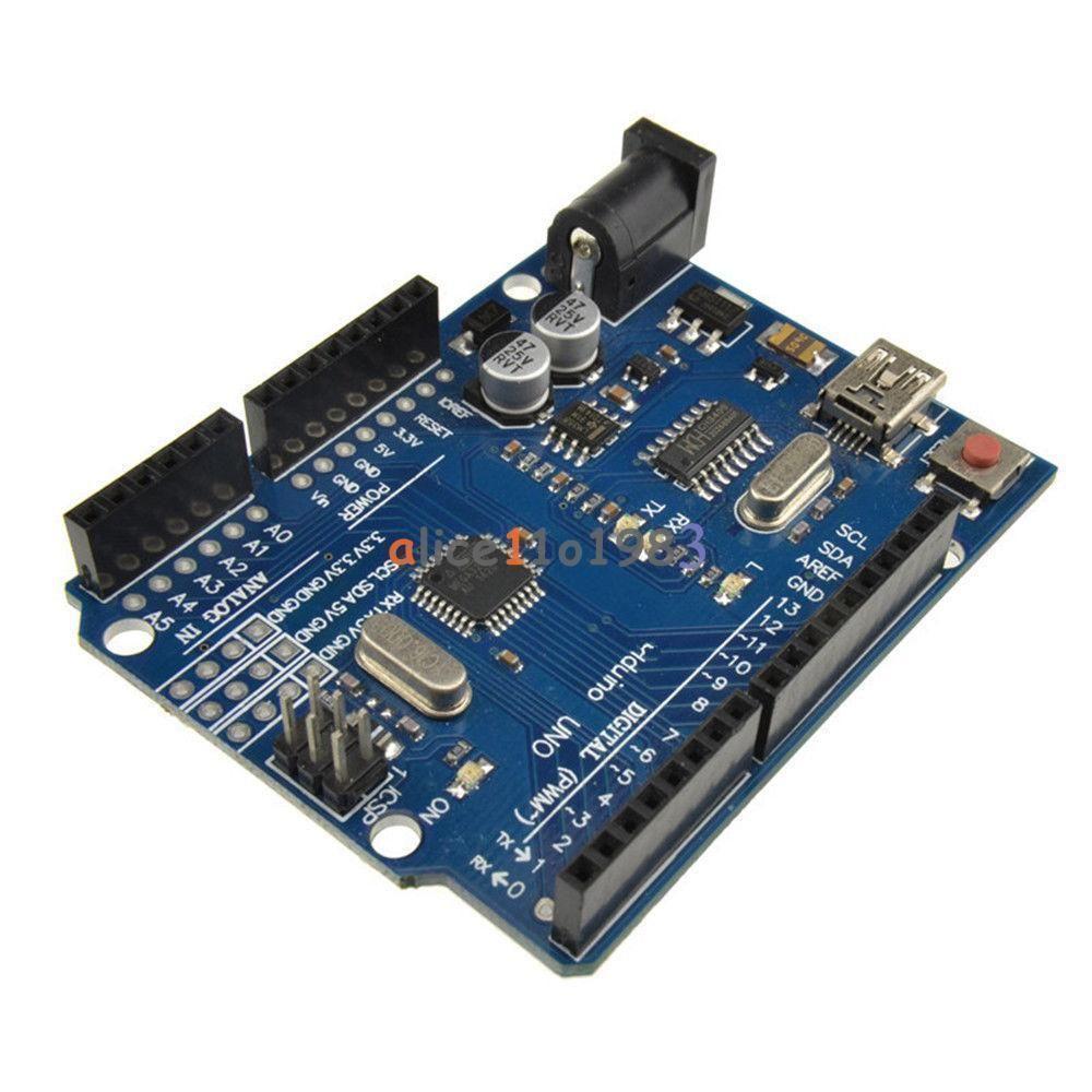 NEW UNO R3 ATmega328P USB CH340 CH340G Replace ATmega16U2 Compatible to Arduino