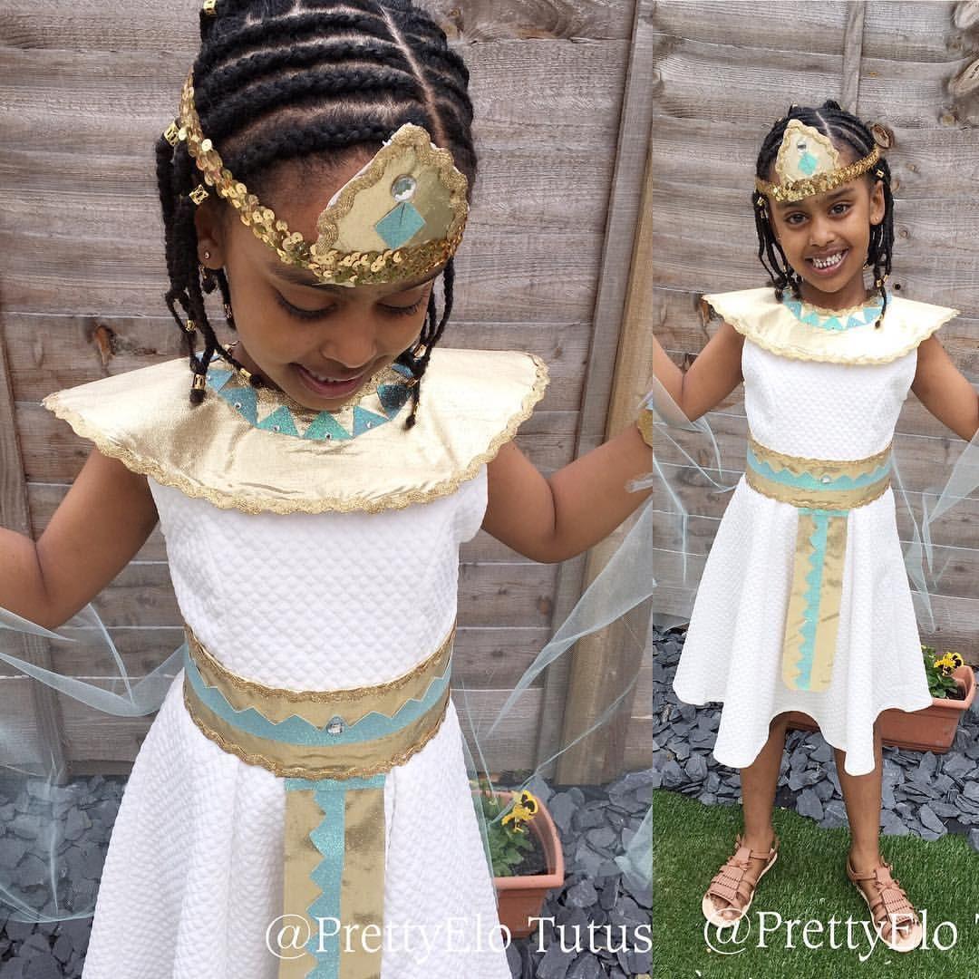 Costumes For Kids Halloween Queen Cleopatra Costume