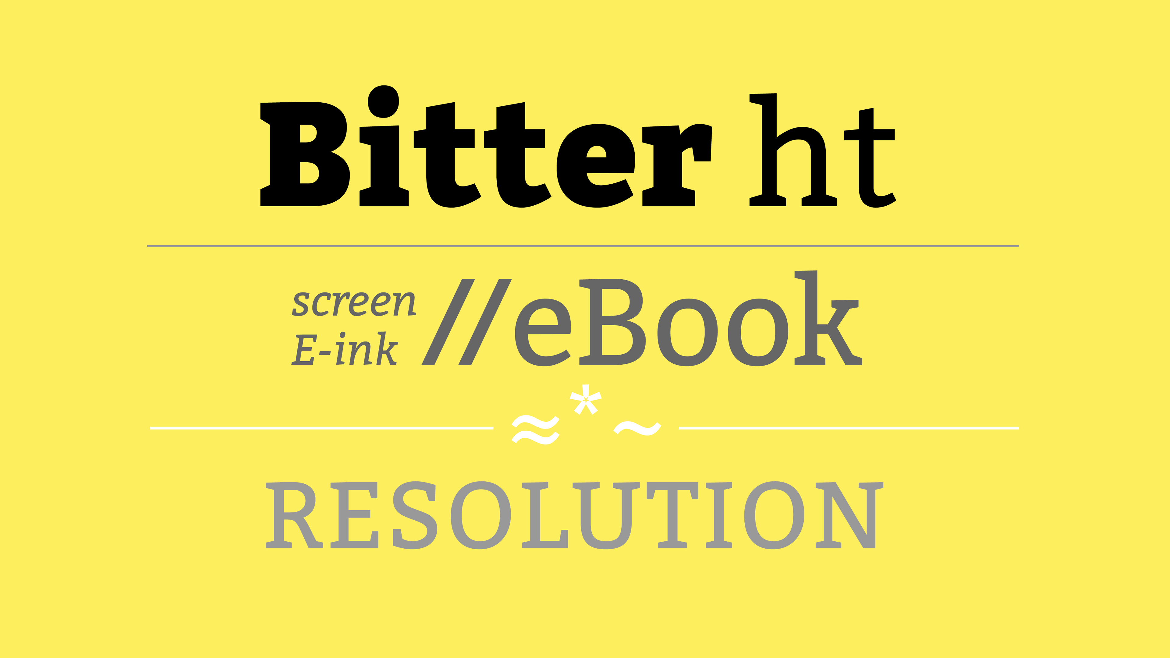Bitter A Contemporary Slab Serif Typeface Is Specially Designed For Comfortably Reading On Any Computer Or Devi Free Font Best Free Fonts Free Fonts Download