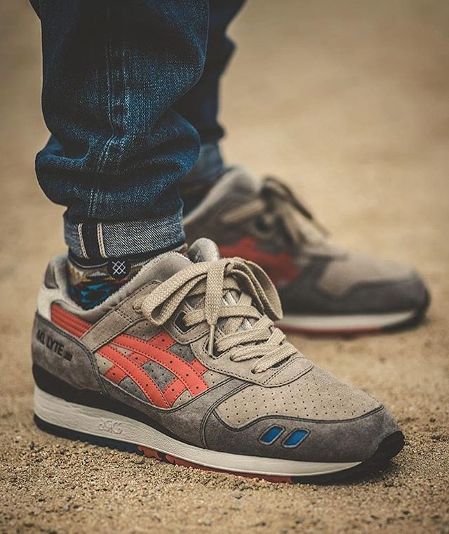 don_shoela with his Gel Lyte III x J.Crew sample. Tag