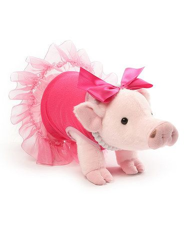 Another great find on #zulily! GUND Prissy Pig Plush #zulilyfinds