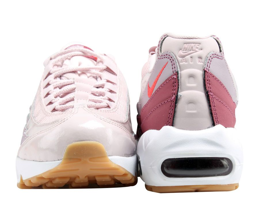 quality design f15d5 ca686 Nike Air Max 95 Barely RoseHot Punch Womens Running Shoes 307960-603 BarelyRoseHot
