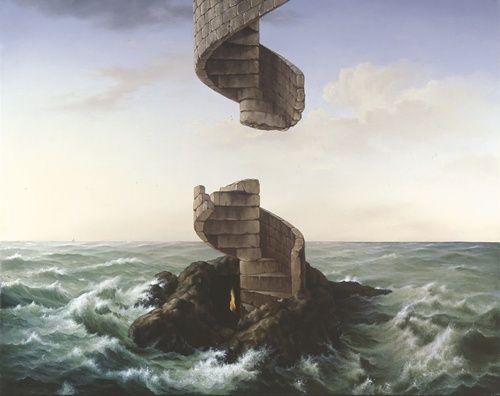 Surrealism Art by surrealist artist charnine - similar to dali ...