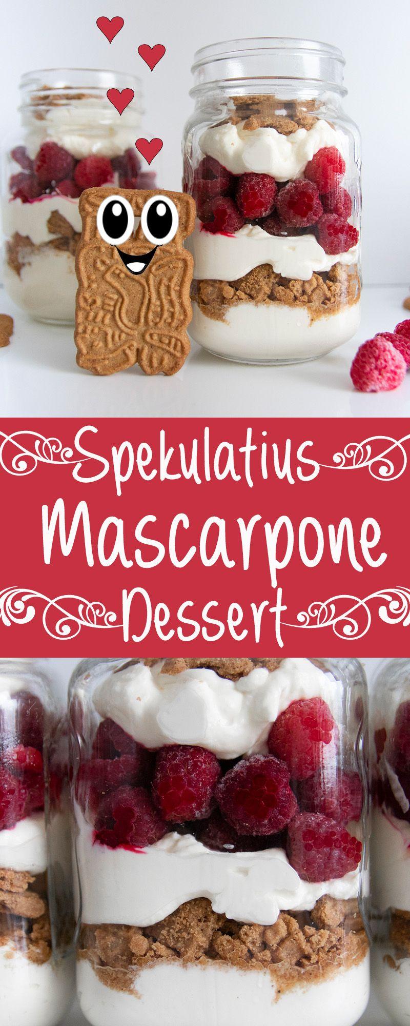 WOW! 5 Minuten Spekulatius Mascarpone Dessert