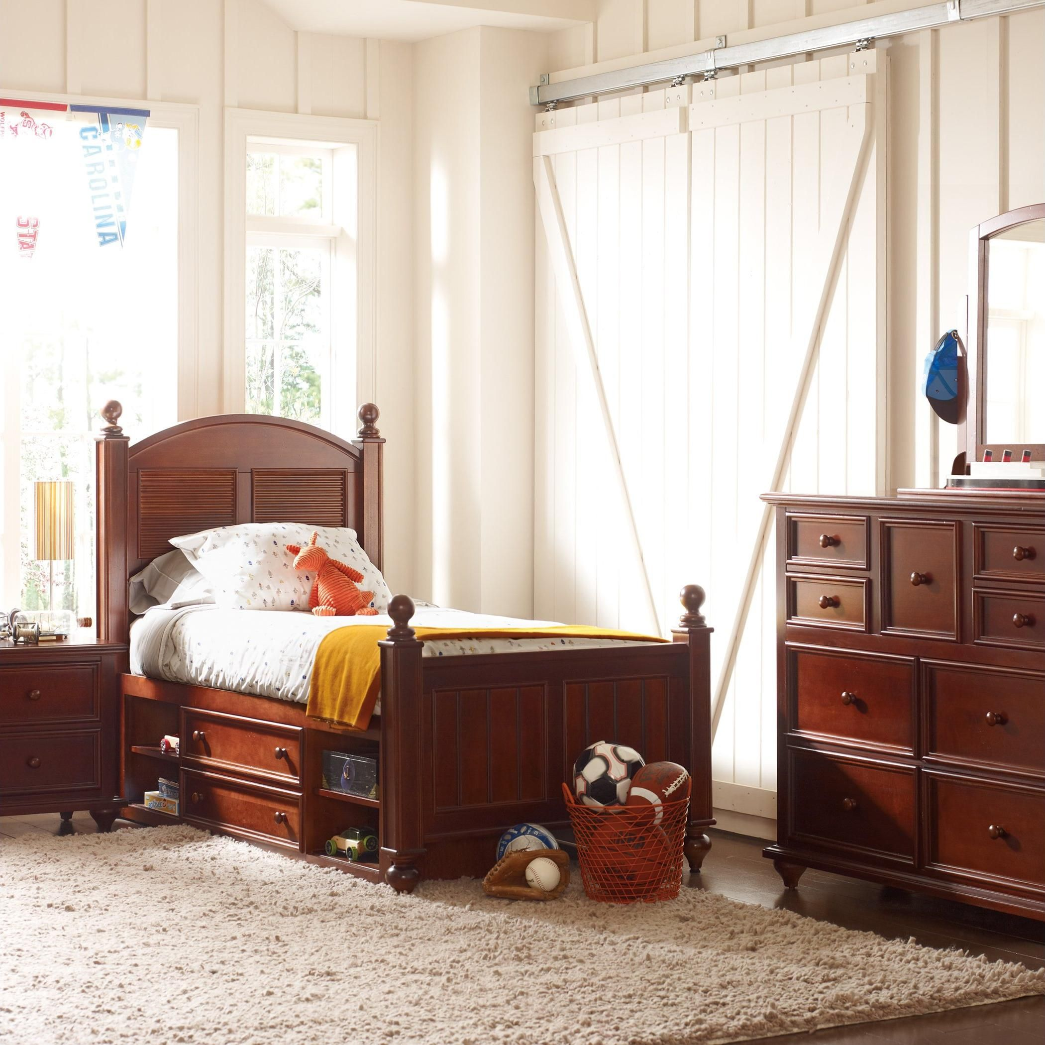 Baby jasper bed brackets - Young America Bed
