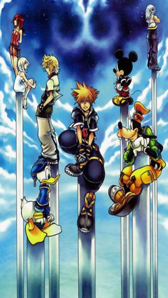 Kingdom Hearts Iphone Wallpaper Kingdom Hearts Wallpaper Kingdom Hearts Kingdom Hearts Ii
