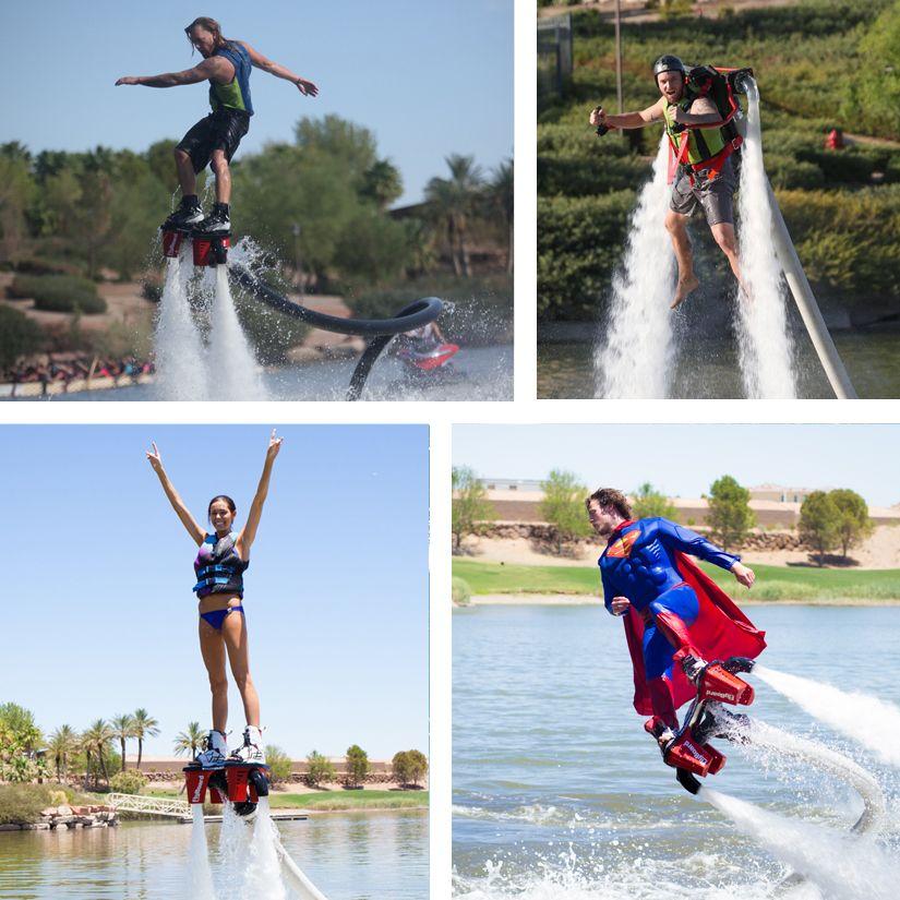 Lake Las Vegas Water Sports offers wake boarding, kayaking