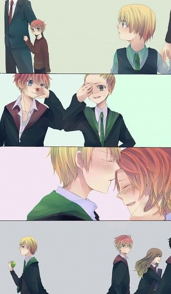 Harry potter and ron gay yaoi