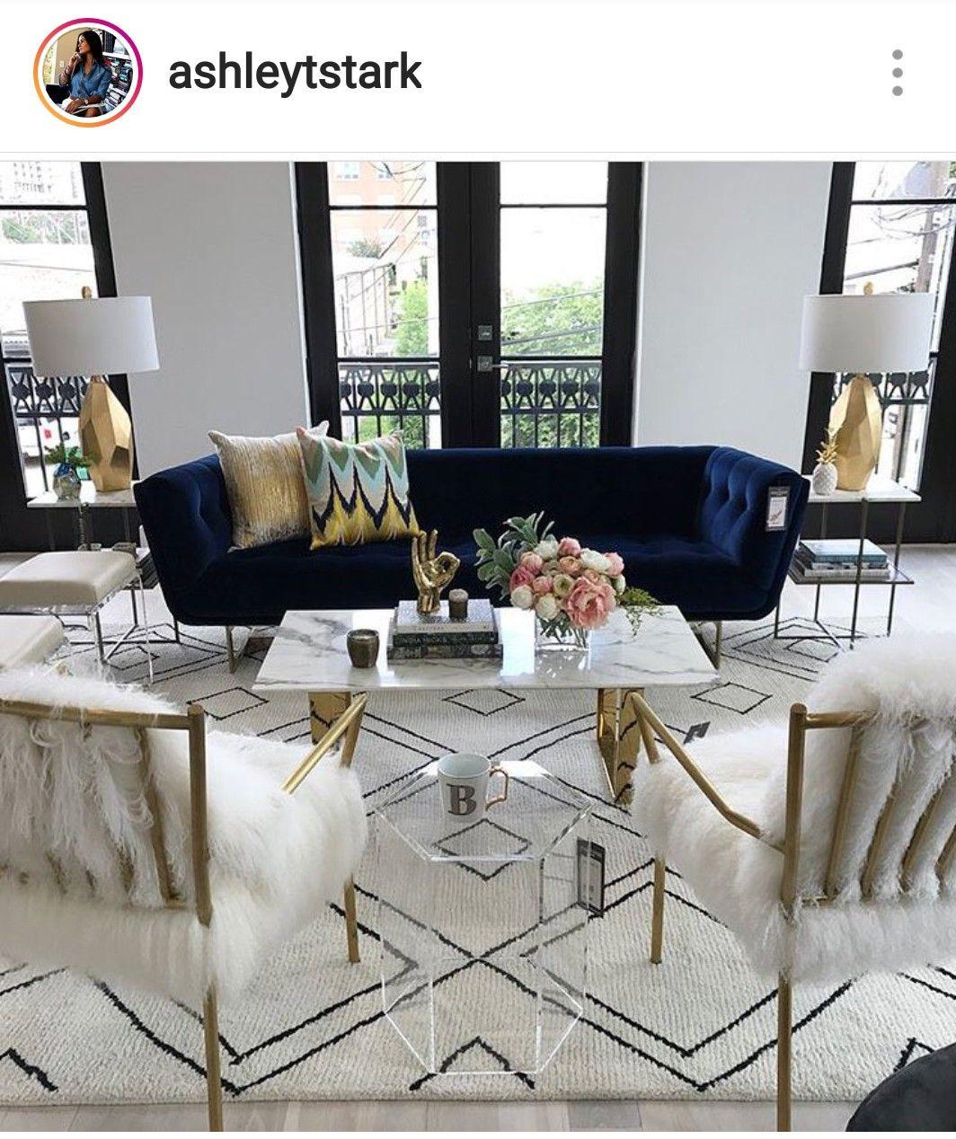 Hollywood glam, Art Deco decor, home design ideas, home ...