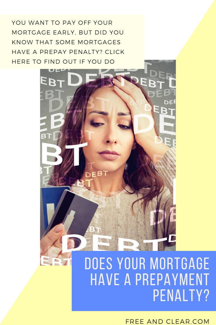 How To Determine If A Mortgage Has A Prepayment Penalty Freeandclear Mortgage Mortgage Payoff Real Estate Advice