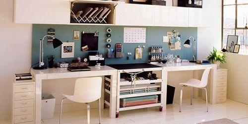 Decoration Bureau Travail Maison Autre Pinterest Office Desks