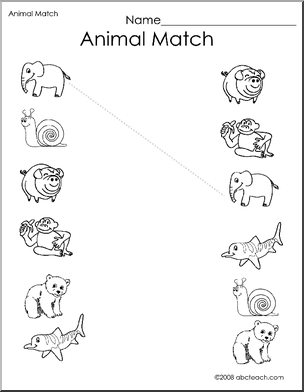 Pin Match The Animals More Bugs And Spiders Wednesday