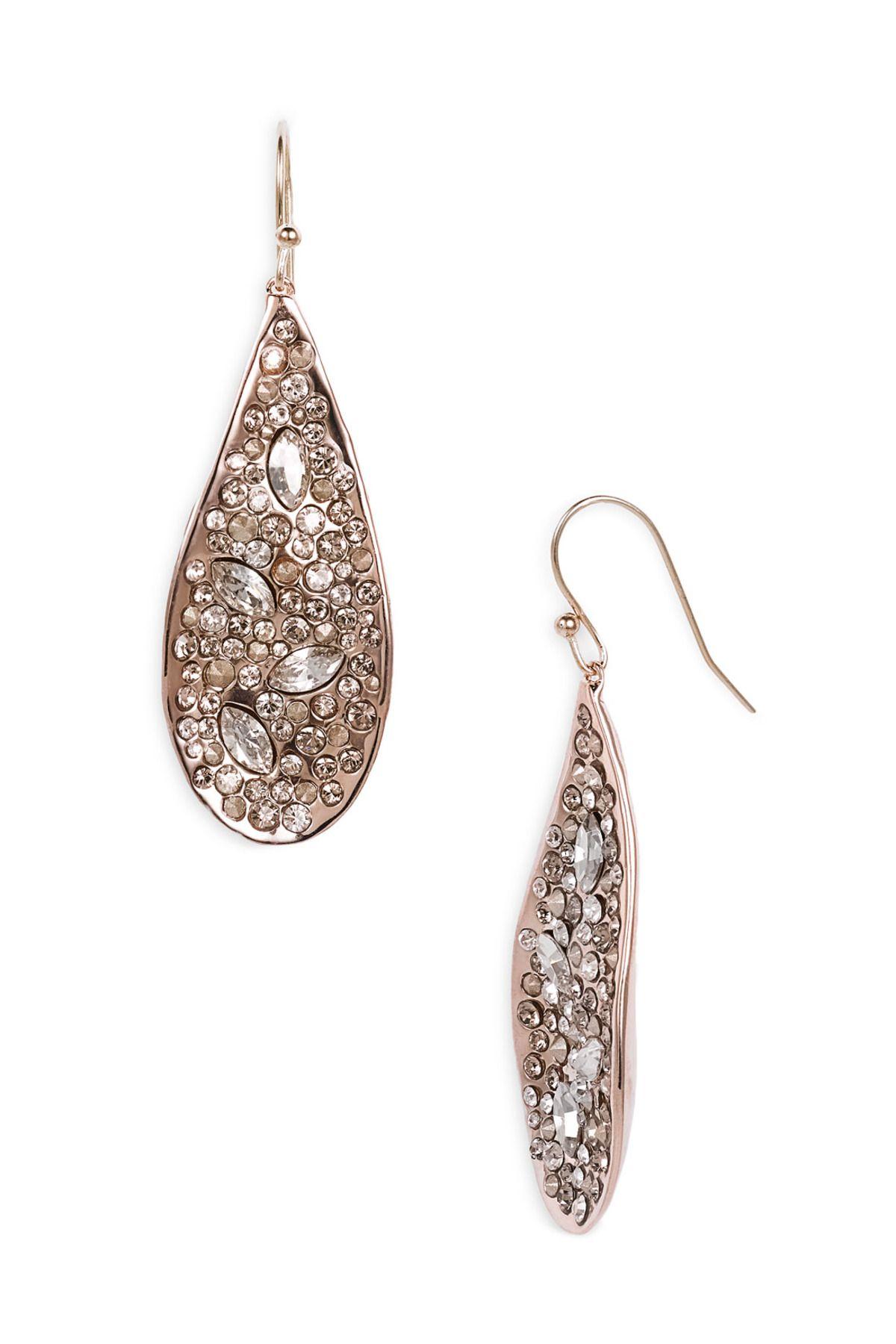 Alexis Bittar Miss Havisham Large Teardrop Earrings Nordstrom Rack