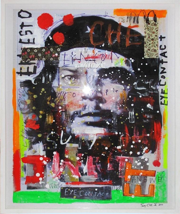 Troy Henriksen - Che II - Galerie W - Galerie d'Art contemporain à Paris #troy #henriksen #art #contemporain #contemporary #galerie #w #gallery #montmartre #paris #france #europe #eric #landau #isabelle #euverte #musee #museum #fondation #fair #artist #artfair #market #international #dart #live #love #give #placetobe