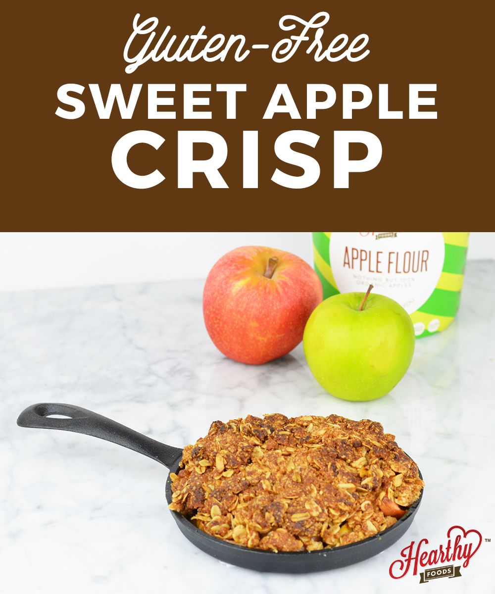 Gluten Free Apple Crisp Recipe VIDEO