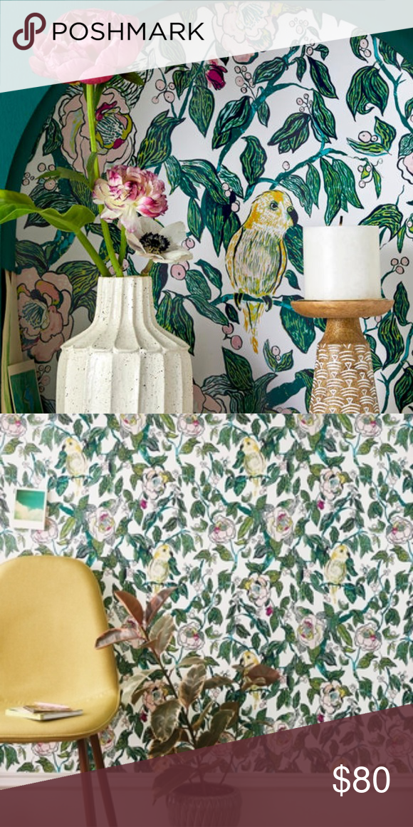 Marker Floral Coordinate Peel Stick Wallpaper Opalhouse Target Peel And Stick Wallpaper Accent Walls In Living Room Wallpaper