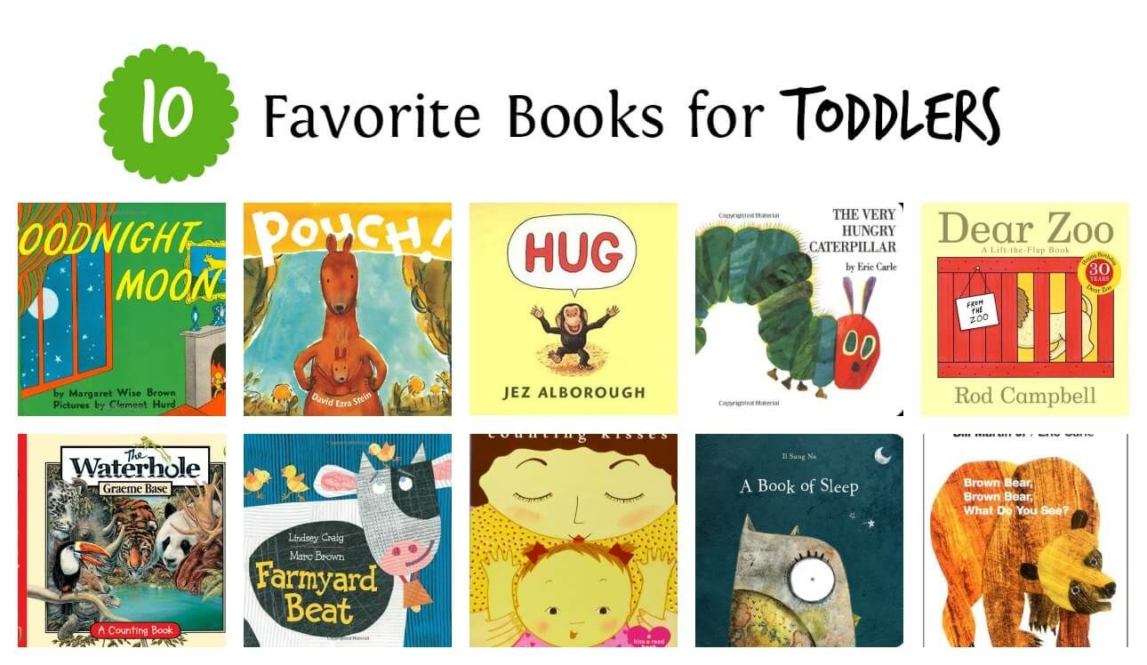 10 Favorite Books for Toddlers