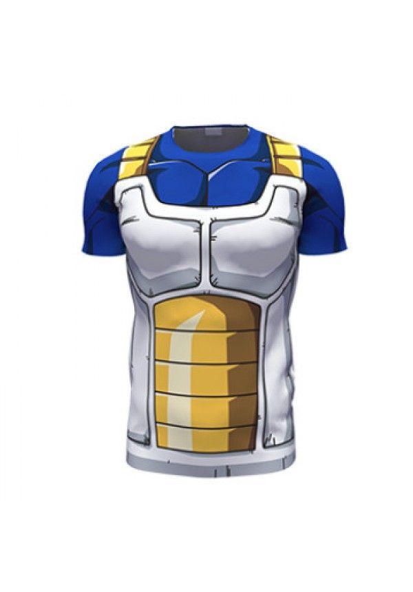 f642638837 Cheap Clásico animado Dragon Ball Z Super Saiyan 3d t shirt camiseta de la  historieta Vegeta armadura camisetas mujeres hombres Casual tee shirts  tops