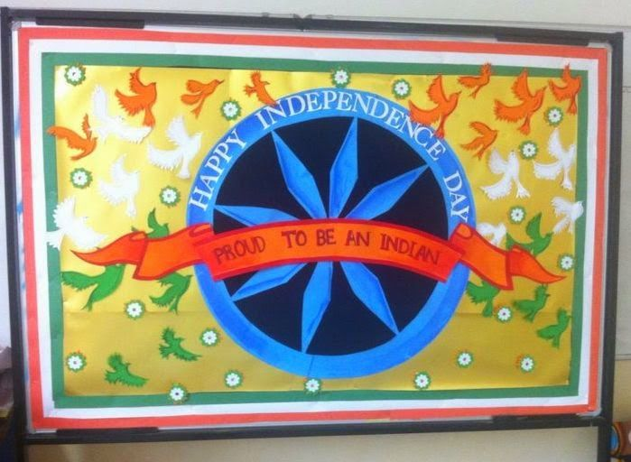 Notice Board Decoration For Independence Day Valoblogi Com