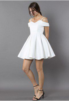 Rest Your Grace Sweetheart White Dress white M