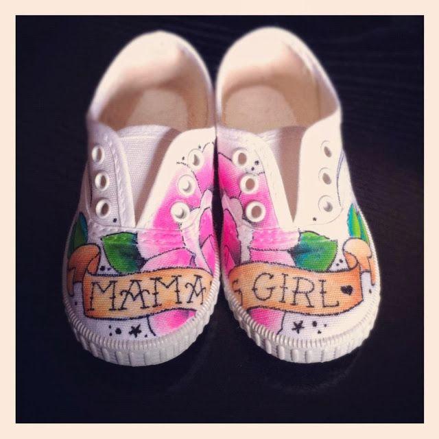 Zapatillas personalizadas Mama's girl