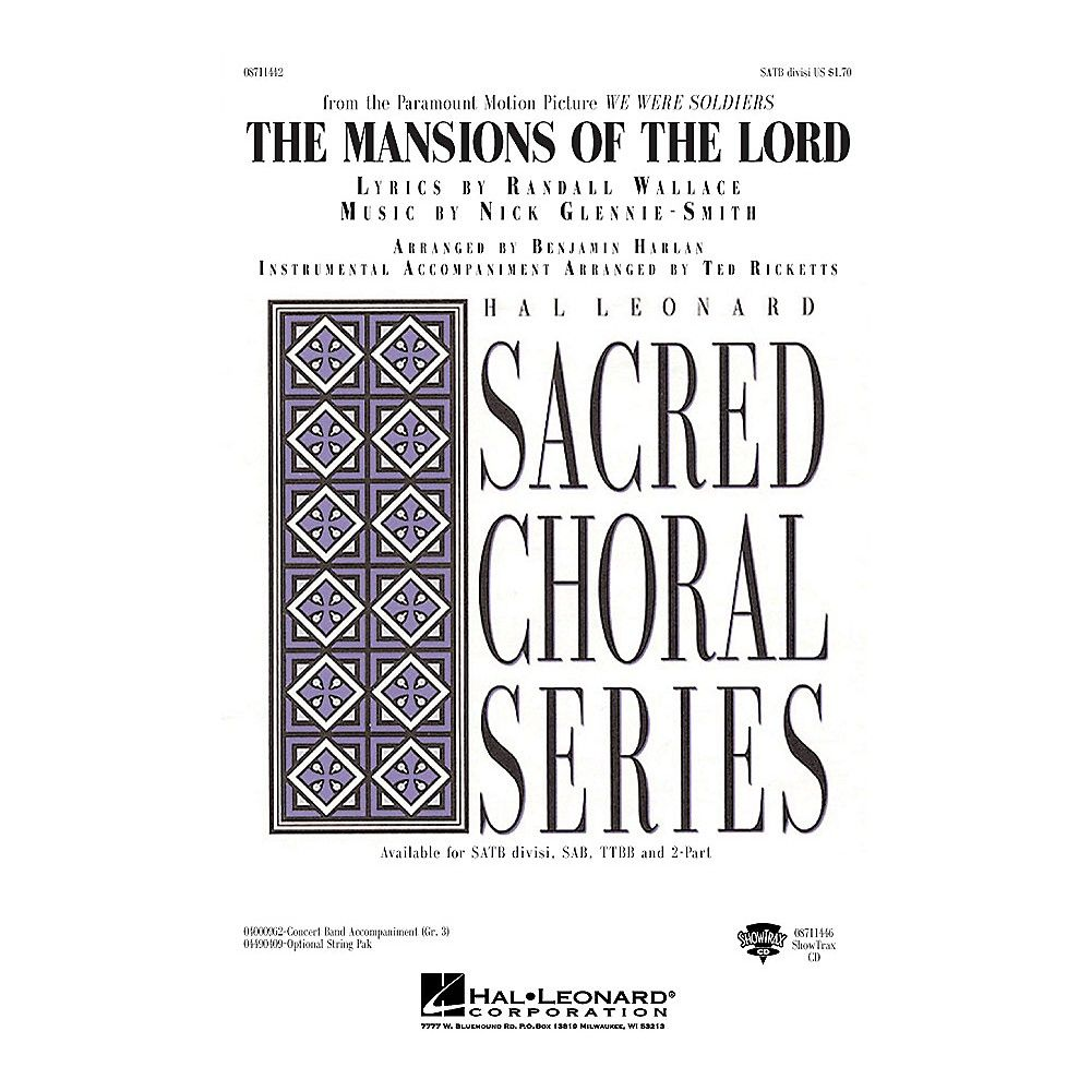 Hal Leonard The Mansions of the Lord (from We Were