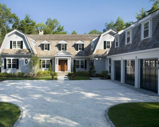 Cape Cod House Exterior Design Ideas Pictures Remodel And Decor Dutch Colonial Homes Traditional Exterior House Exterior