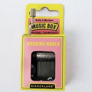 Wedding March Song Music Box