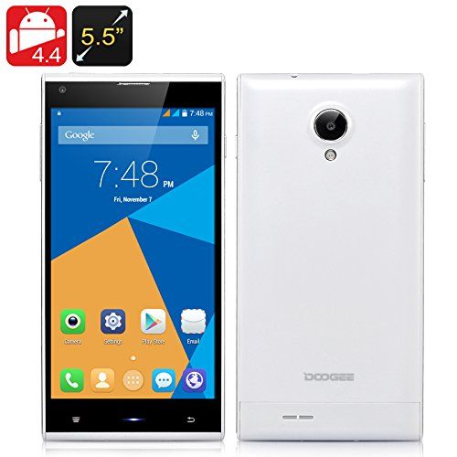 DOOGEE Dagger DG550 Phone - Android 4.4, 13 MP Rear Camera, F2.2 Aperture, Octa Core MTK6592 1.7 GHz, IPS HD OGS Screen