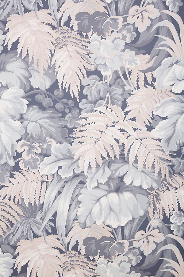 Royal Fernery Wallpaper Blush pink wallpaper, Cole and