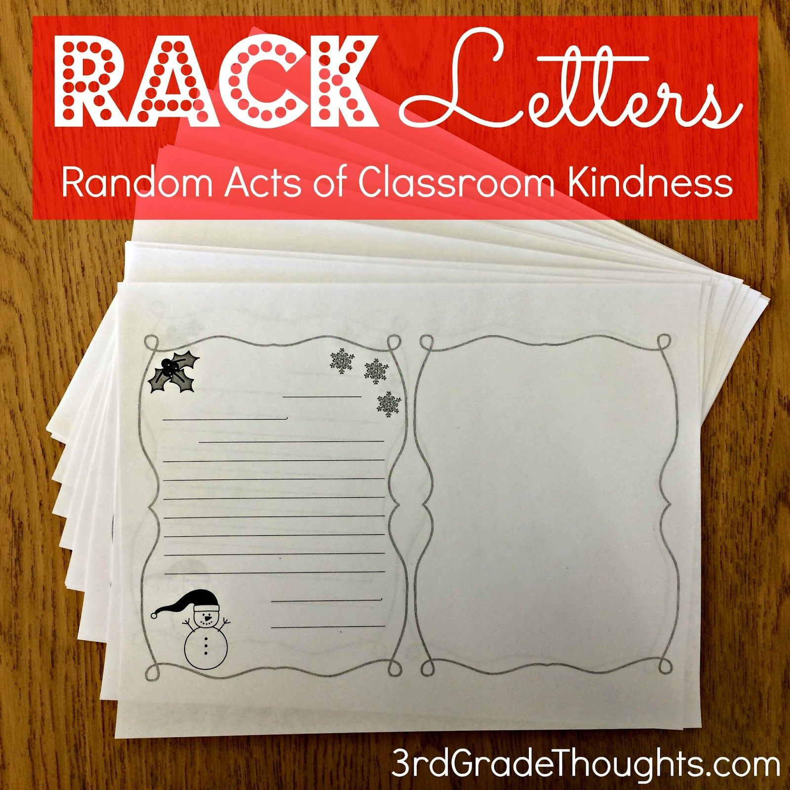 Friendly Letter Writing With Rack