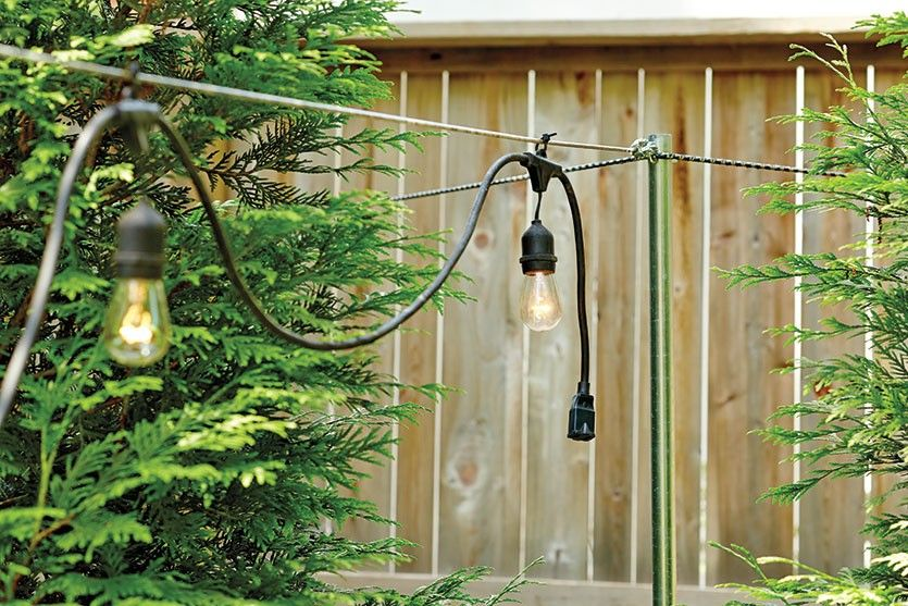 How to hang string lights home string lights outdoor - How to hang up string lights ...