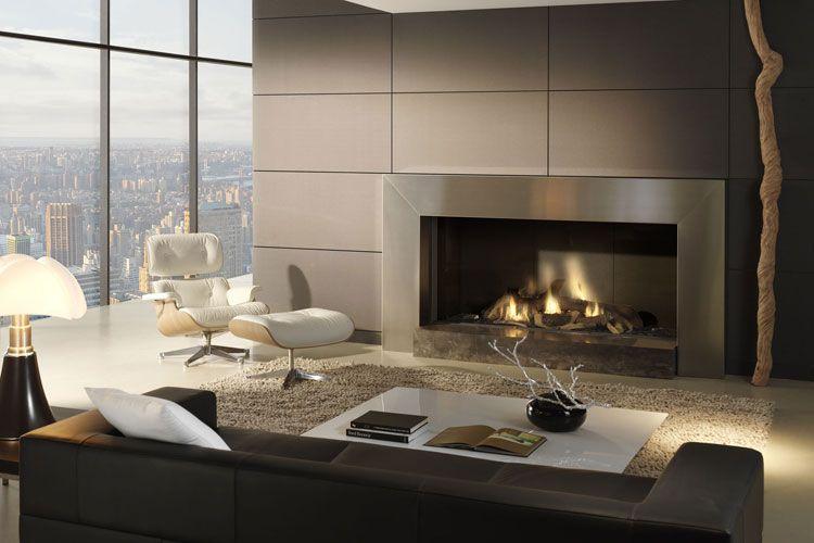 Caminetti Da Interni Moderni : 60 immagini di camini moderni da interno fireplaces mantels wood