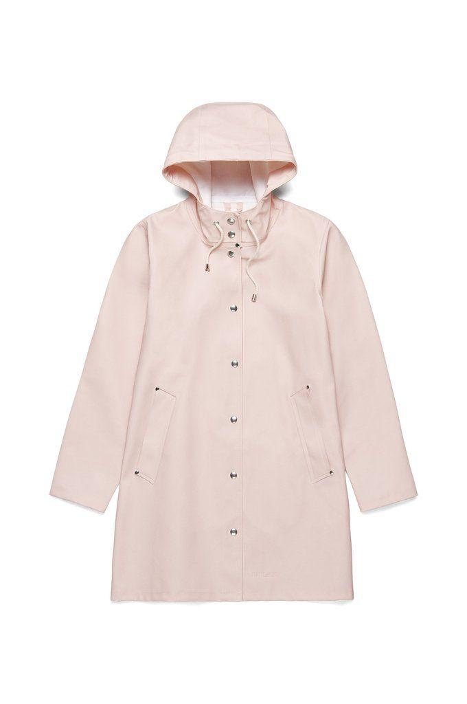 Womens Stutterheim Mosebacke Jacket Lined Waterproof New