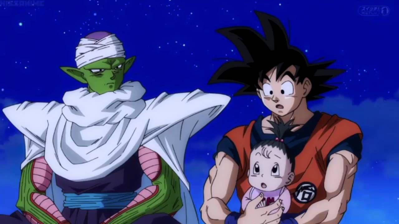 Dragonball Super- Goku plays with Pan ENG SUB   Dragon Ball Z ...