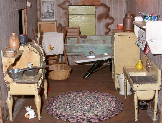 Antique Dollhouses For Museum | Miniatures U0026 Dollhouses / Antique Toy  Museum Baltimore