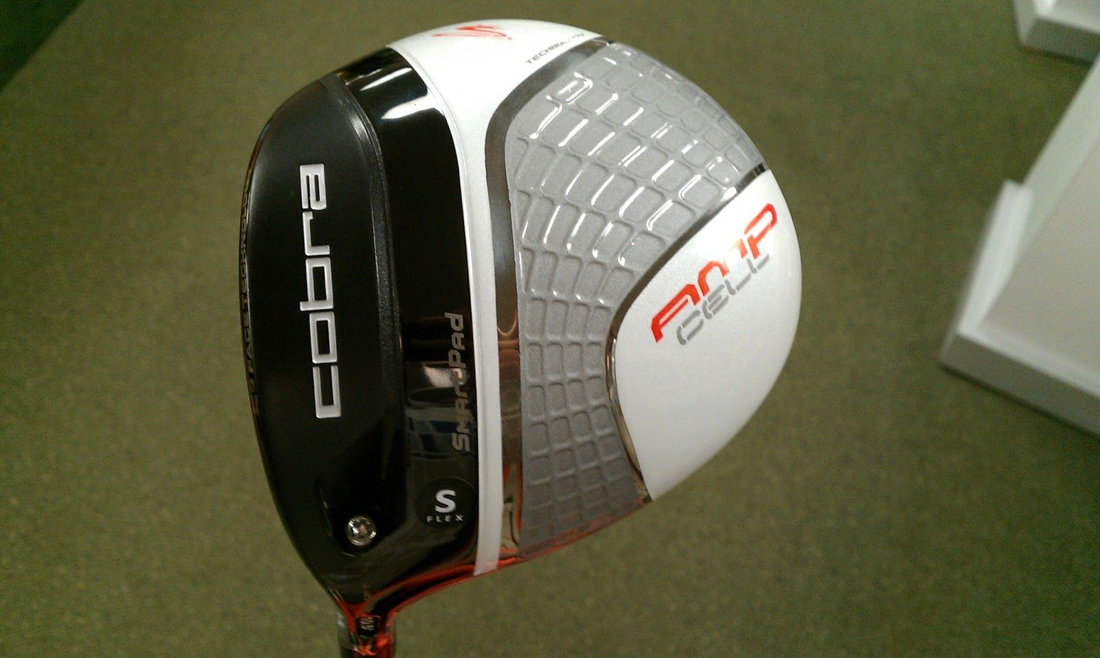 My Life On The Green Amp Cell Driver Smartpad Technology New From Cobra Puma My Life Life Green