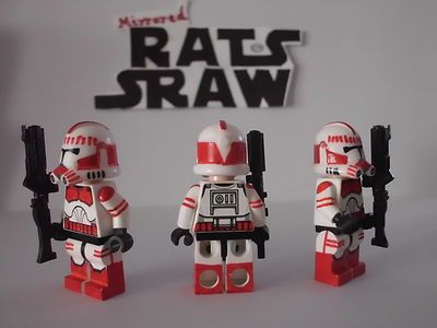 Lego Star Wars Minifigures Clone Custom Shock Trooper   eBay   Star ...