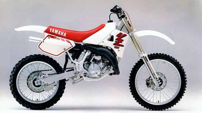 1989 Yz125 Yamaha Motocross Yamaha Dirt Bikes Honda Dirt Bike