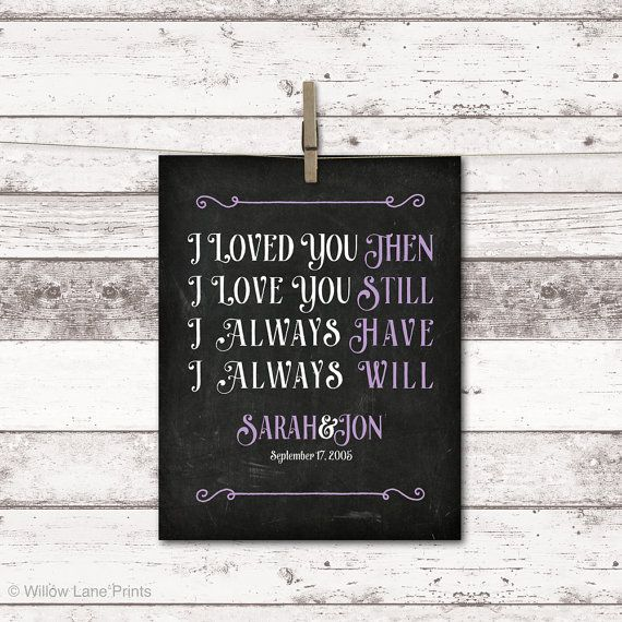 10 year anniversary gift for men women, custom gift for husband wife ...