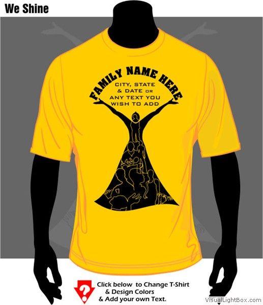 T-Shirt Cafe African American Family Reunion T-Shirt Designs ...
