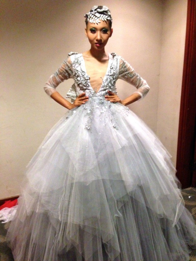 IFW Day 1 – The Fashion Parade - NICOLE CIFELLI   Gowns ...