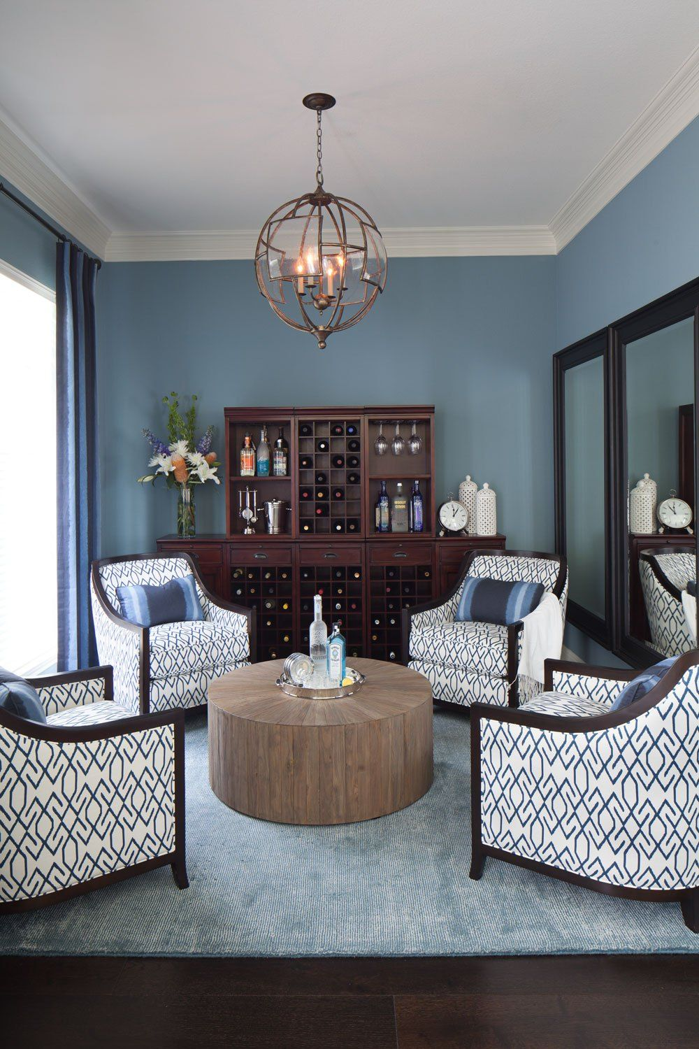 15 Circular Conversation Seating Areas 4 Chairs Around a Coffee Table  The Beautiful Elements