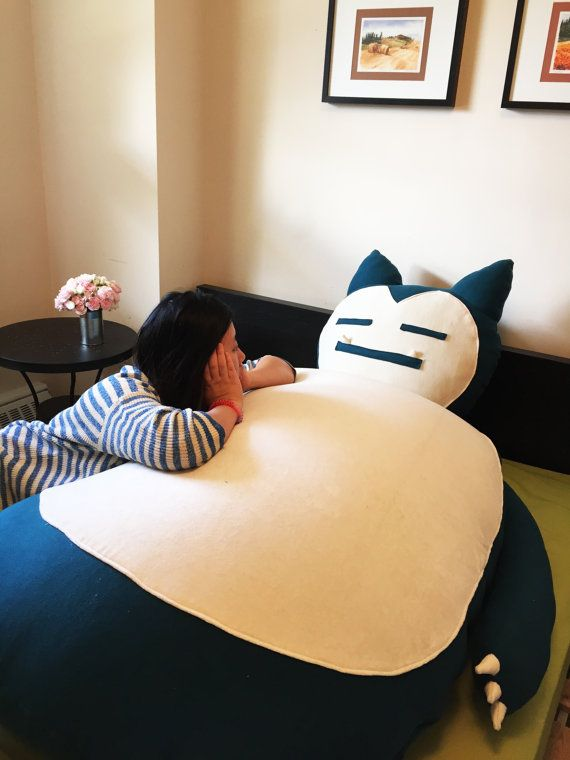 how to make a snorlax bed