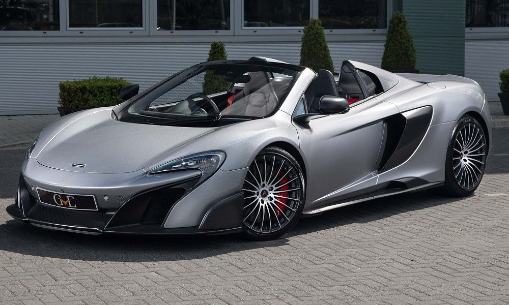 2016 McLaren 675LT Spider For Sale by GVE London (With