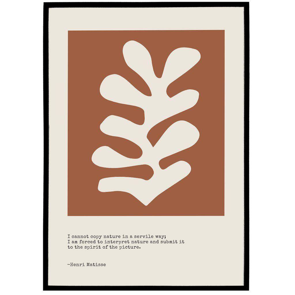 Matisse Quote Print in 2020 Matisse prints, Matisse